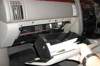 Grand Cherokee Heater Blend Doors Installation