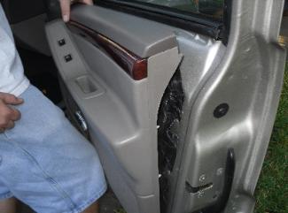 Grand Cherokee Door Panel Repair